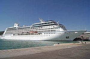 MS Insignia - Image: Insignia (ship, 1998) IMO 9156462; in Split, 2011 10 01; (1)