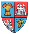 Coat of arms of Județul Arad
