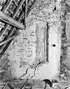 interieur zolder dichtgemetseld raam - franeker - 20074045 - rce