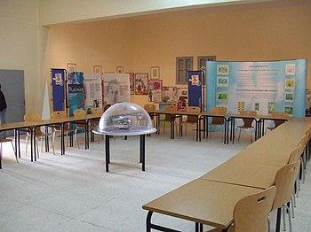 Interior del Museo Antoine de Saint-Exupery en Tarfaya %28Marruecos%29