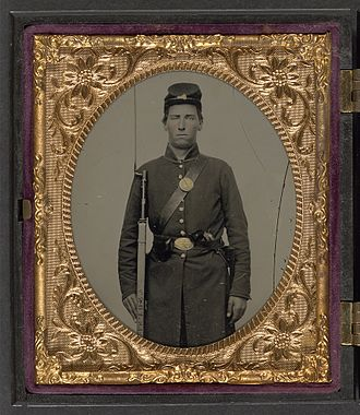 118th Illinois Volunteer Infantry Regiment - Isaac Yost of Company C, 118th Illinois Volunteer Infantry