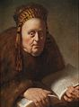 Isaac de Jouderville Alte Frau mit Buch.jpg