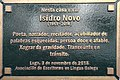 Isidro Novo-placa casa.jpg