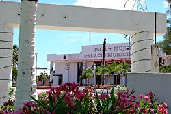 Municipal hall on Isla Mujeres