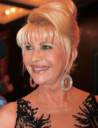 Ivana Trump cropped retouched