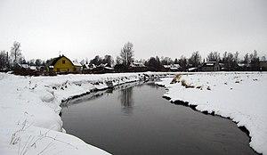 Gatchinsky District - The Izhora River near Myza-Ivanovka in Gatchinsky District