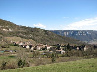 Izieu - Image: Izieu Village