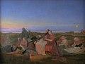 Jørgen V. Sonne - Midsummer's Eve. Sick People Asleep upon the Grave of St. Helena at Tisvilde - KMS527 - Statens Museum for Kunst.jpg