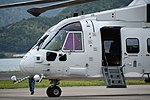 JMSDF MCH-101(8657) forward fuselage section left front view at Maizuru Air Station May 18, 2019 01.jpg