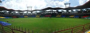 Jawaharlal Nehru Stadium (Kochi) - Image: JNU Stadium kaloor cochin