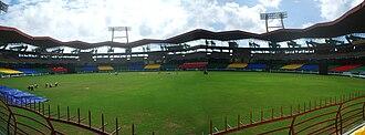 V. Joseph Thomas - Image: JNU Stadium kaloor cochin