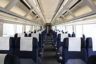 255 series - Image: JRE series 255 saro 255 1 inside