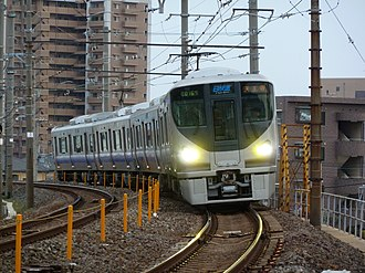 Hanwa Line - B-Rapid Service Train (225-5000 series EMU)
