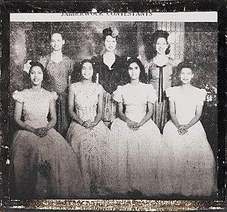 Delta Sigma Theta - Delta Jabberwock Contestants 1945