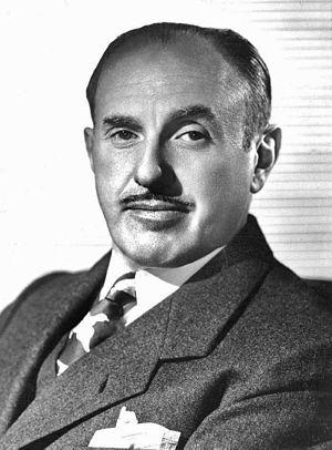 Jack L. Warner - Portrait of Jack L.Warner in 1955