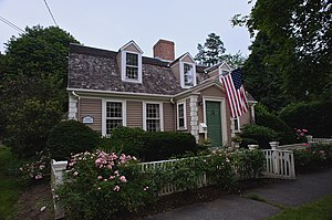 Plymouth County, Massachusetts - Jacob Thaxter House in Hingham