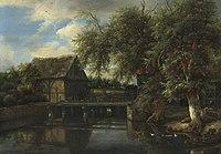 Jacob vann Ruisdael - A Water Mill.jpg