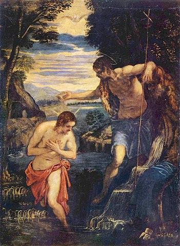 «Крещение Господне» (картинаТинторетто)