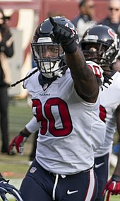 Three-time Pro Bowler Jadeveon Clowney was drafted first overall by the  Houston Texans. 0494c59ae
