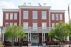 Jaeckel Hotel - Image: Jaeckel Hotel, Statesboro, GA, US