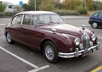 Jaguar Mark 2 - Jaguar Mark 2 3.4 Litre, first registered 1963