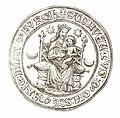 Jahrbuch MZK Band 03 - mittelalterliche Siegel Fig 12 regulierte Chorherren Klosterneuburg - Heilige Maria Nivenburch 2.jpg