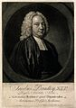James Bradley. Mezzotint by J. Faber after Thomas Hudson. Wellcome V0000735.jpg