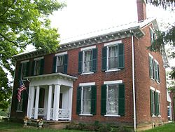 The James Kinney Farmhouse, built 1863