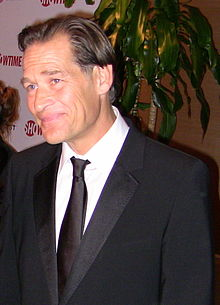James Remar a la gala dels Globus d'Or (2009)