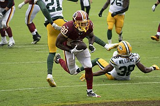 Tramon Williams - Williams in a game against the Washington Redskins in 2018