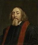 Jan Amos Comenius (Komensky) (1592-1670). Tsjechisch humanist en pedagoog. Als voorganger van de Moravische of Boheemse Broedergemeente verdreven en sedert 1656 gevestigd te Amsterdam Rijksmuseum SK-A-2161.jpeg