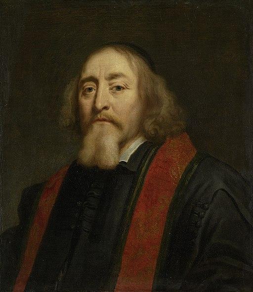 Jan Amos Komeński(1592-1670). Tsjechisch humanist en pedagoog. Als voorganger van de Moravische of Boheemse Broedergemeente verdreven en sedert 1656 gevestigd te Amsterdam Rijksmuseum SK-A-2161