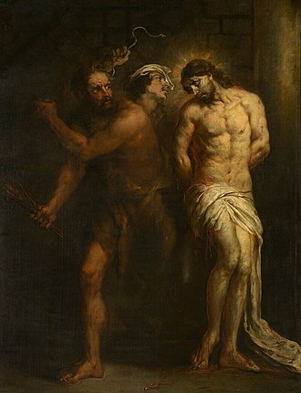 Jan Cossiers - The Flagellation of Christ