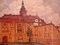 Jan Honsa - Před zámkem 1913.jpg