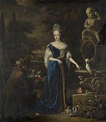 Portrait of Maria Cornelisz, wife of Silvester van Tongeren