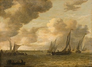 Estuary with Sailing Boats