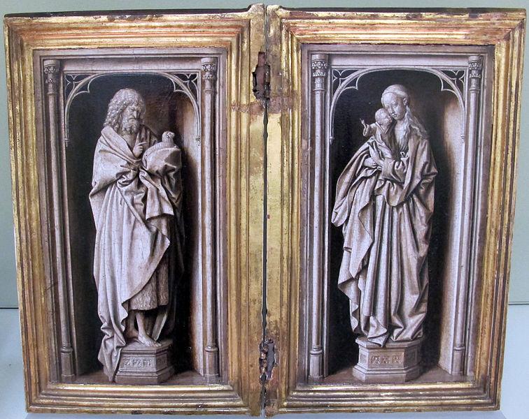 File:Jan van eyck (cerchia), san giovanni battista e la vergine, 1440 ca..JPG