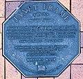 Janet Frame memorial plaque in Dunedin.jpg