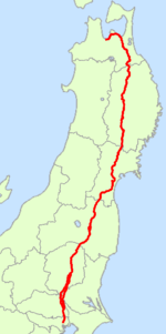 Japan National Route 4 Map.png