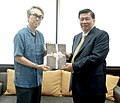 Japanese-Philippines Parliamentarians Friendship League Hon. Nobuteru Ishihara and Sen. Franklin Drilon.jpg