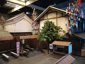 Tanabata - Display of Edo Tanabata at Fukagawa Edo Museum