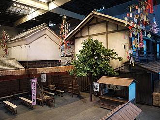 Tanabata - Display of Edo Tanabata at Fukagawa Edo Museum