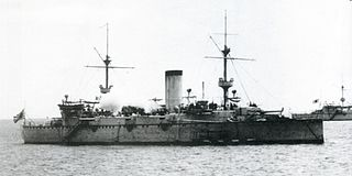 Japanese cruiser <i>Naniwa</i> ship