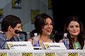 Jared Gilmore, Lana Parrilla & Emilie de Ravin (14962193322).jpg