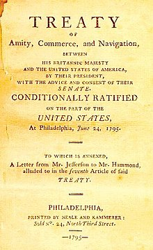 United kingdomunited states relations wikipedia 17831807 role of jay treatyedit sciox Gallery