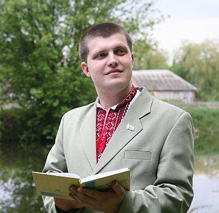 Yevhen Buket Ukrainian journalist