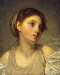 Young Girl in a Lilac Tunic