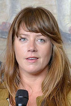 Jennie Silfverhjelm under Det Kgl. Svenske Teaters efterårssamling 2014.