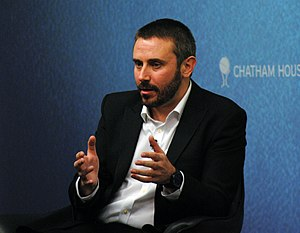 Dirty Wars - Jeremy Scahill speaking at an event at Chatham House in November 2013, to promote the release of the film in the United Kingdom