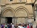 Jerusalem, Holy Sepulchre courtyard (18); 1-3000-211.jpg
